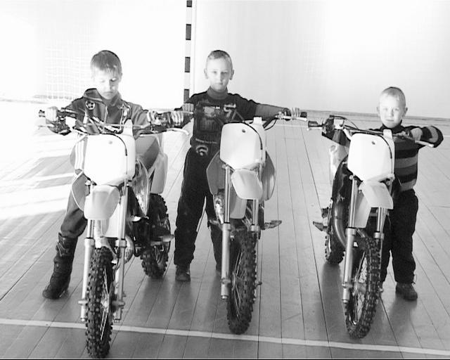 Подарок губернатора юным мотоциклистам
