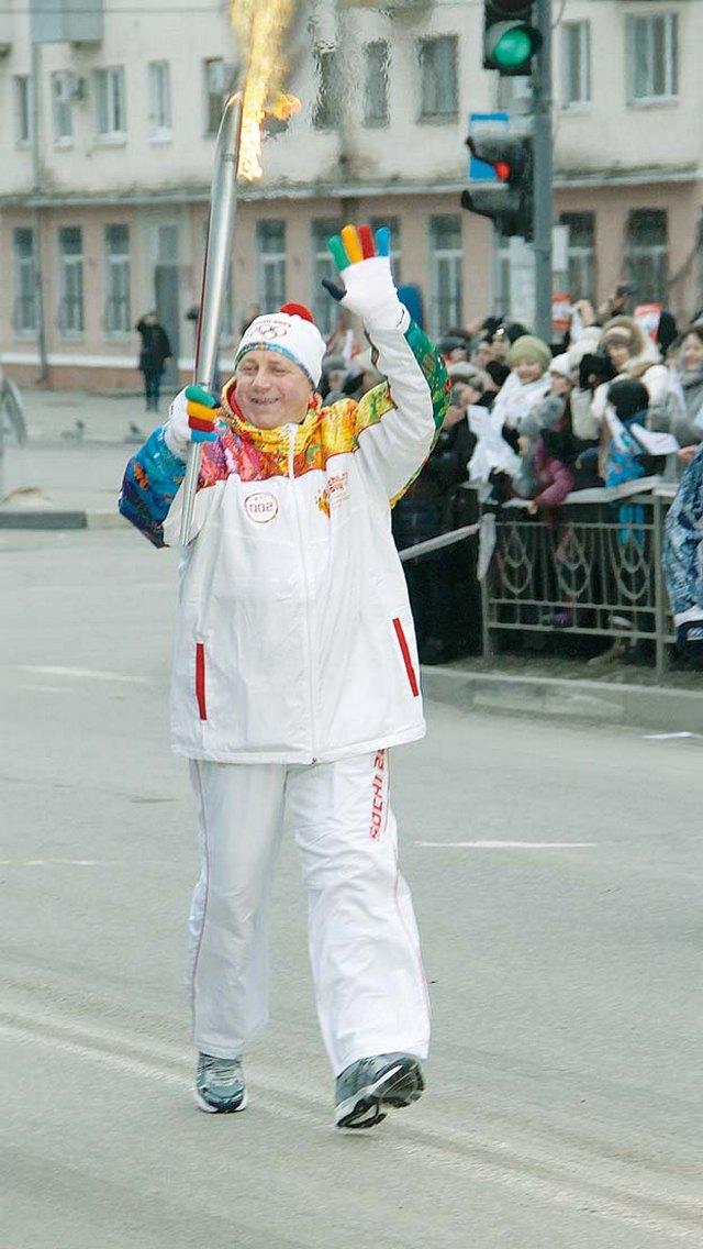 Здравствуй, огонь олимпийский!