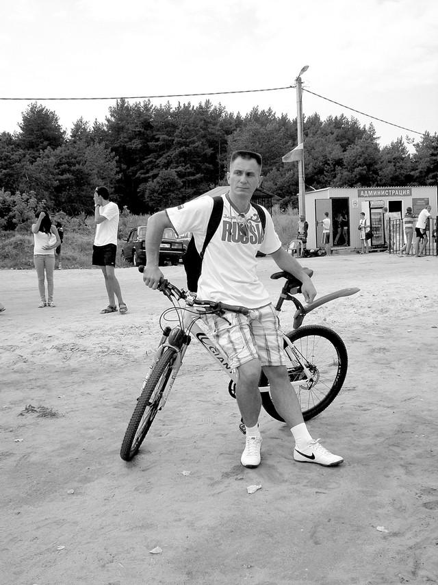 Велопробег во главе с главой