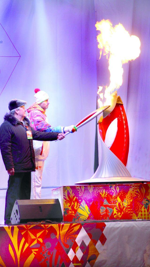 Олимпийский фоторепортаж дня