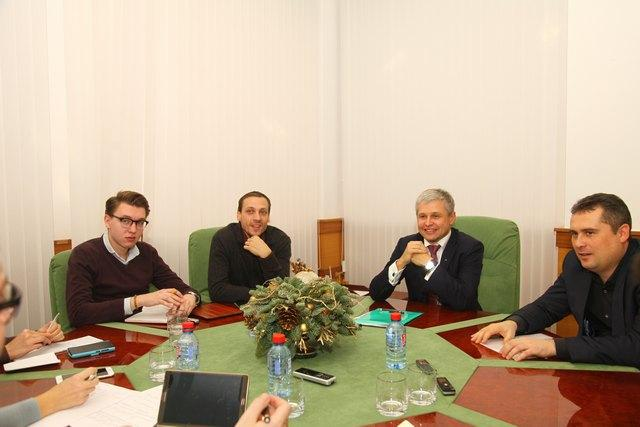 Председатель Центрально-Черноземного банка ОАО «Сбербанк России» Петр Колтыпин провел брифинг для региональных СМИ